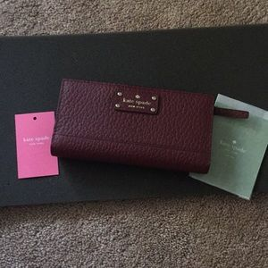 NWT Kate Spade Bay Street Stacy Wallet
